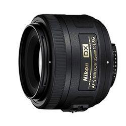Nikon AF-S DX Nikkor 35 mm f1.8 G - Objetivos