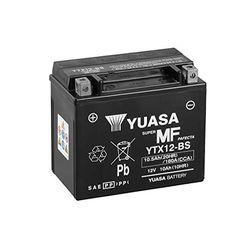 Yuasa 12V 10Ah YTX12-BS - Baterías de moto
