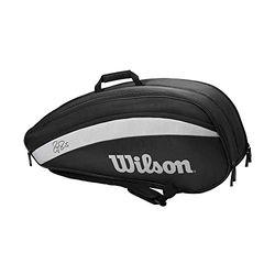Wilson Roger Federer 12 Pack black (WR8005601001) - Bolsas de tenis