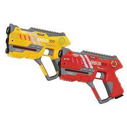 Jamara Impulse - Laser Gun Pistol Set - Pistolas de juguete