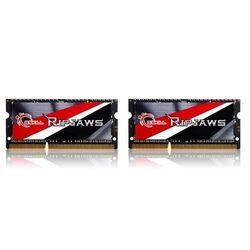 G.SKill RipJaws 8GB Kit SO-DIMM DDR3 PC3-12800 CL9 (F3-1600C9D-8GRSL) - SODIMM