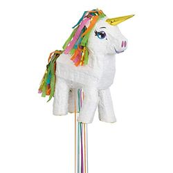 Unique Party Piñata Unicornio blanco - Piñatas