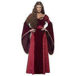 Smiffy's Medieval Queen Deluxe Costume (27877) - Disfraces