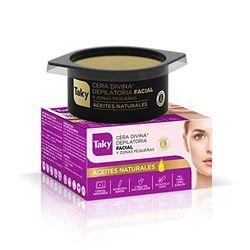 Taky Divina Cera rostro y zonas pequeñas aceites naturales (100 g) - Depiladoras