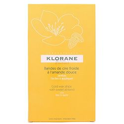 Klorane Cold Wax Small Trips with Sweet Almond (6 uds.) - Depiladoras