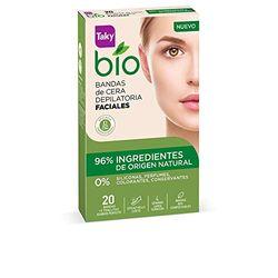 Taky Bio Bandas depilatorias faciales (20 uds.) - Depiladoras