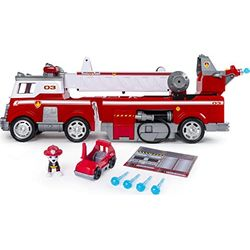 Spin Master Paw Patrol - Ultimate Rescue Fire Truck with Extendable 2 ft. Tall Ladder - Vehículos de juguete