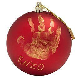 Baby Art Bola de Navidad - Adornos para el árbol de Navidad