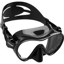 Cressi Gafas de buceo F1 - Gafas y tubos de buceo