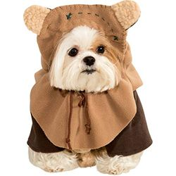 Rubie's Pet Costume Star Wars - Ewok - Ropa para perros