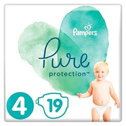 Pampers Pure Protection Size 4 (9-14 kg) - Pañales