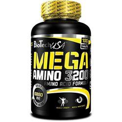 BioTech USA Mega Amino 3200 - Nutrición deportiva