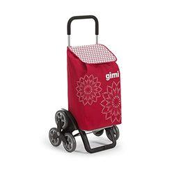 Gimi Tris Shopping Trolley floral red - Bolsas de la compra