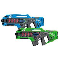 Jamara Impulse - Laser Gun Rifle Set - Pistolas de juguete
