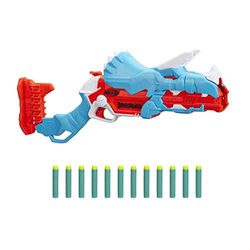 Nerf DinoSquad Tricera-Blast (F0803EU4) - Pistolas de juguete