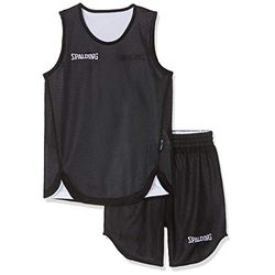 Spalding Double Face Kid Set Basketball white/black - Ropa de baloncesto