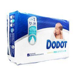 Comprar en oferta Dodot Pro Sensitive + talla 1 (2-5 kg)