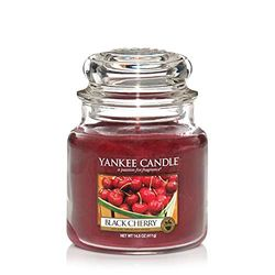 Yankee Candle Black Cherry Candle - Velas