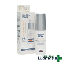 Isdin Foto Ultra Age Repair Water Light Texture SPF 50 (50 ml) - Protectores solares
