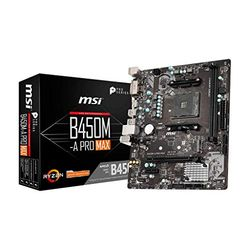 MSI B450M-A Pro Max - Placas base