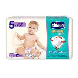 Chicco Ultrasoft Junior S.5 (12-25kg) 17 pcs - Pañales