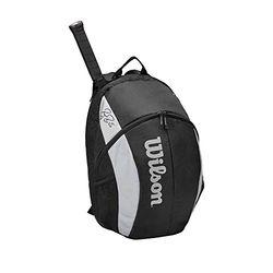 Wilson Roger Federer Team backpack black (WR8005901001) - Bolsas de tenis