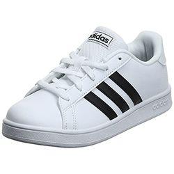 Adidas Grand Court Kids cloud white/core black/cloud white (EF0103-0007) - Zapatillas de tenis