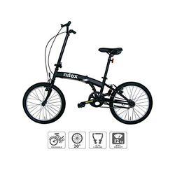 Nilox X0 black - Bicicletas plegables