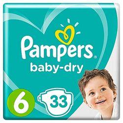 Comprar en oferta Pampers Baby Dry talla 6 (15+ kg)