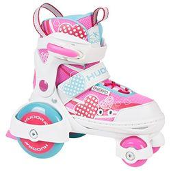 Hudora My First Quad Girl 2.0 - Patines sobre ruedas