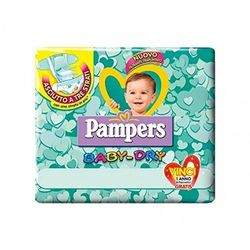 Pampers Baby Dry Talla 3 (4-9 kg) - Pañales