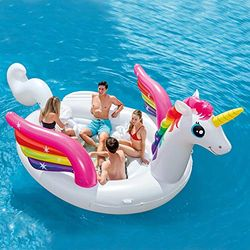 Intex Unicorn Party Island - Flotadores