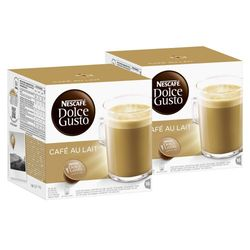 Nescafé Dolce Gusto Cafe au lait 16 Capsules - Cápsulas café