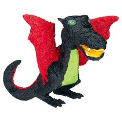 Amscan Piñata Dragón negro - Piñatas