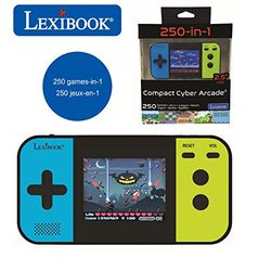 Lexibook Compact Cyber Arcade 250 Games (JL2377) - Consolas