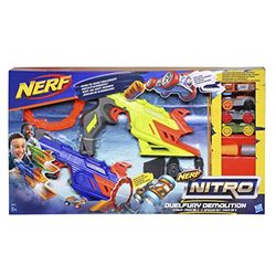 Nerf Nitro Duelfury Demolition - Pistolas de juguete