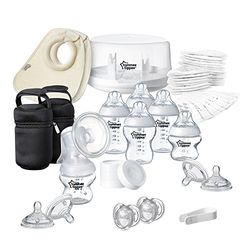 Tommee Tippee Closer to Nature Microwave Steriliser and Breast Pump Set - Sacaleches