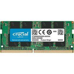 Crucial 16GB SODIMM DDR4-2666 CL19 (CT16G4SFD8266) - SODIMM