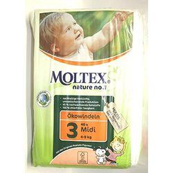Moltex Midi Size 3 (4-9 kg) - Pañales