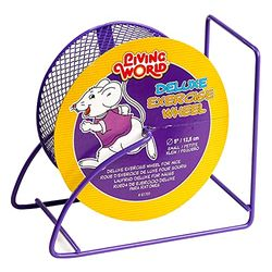 Living World Deluxe Exercise Wheel - Juguetes para roedores