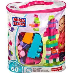 MEGA BLOKS Trendy Building Blocks Bag (60 Pieces) - Juegos de construcción