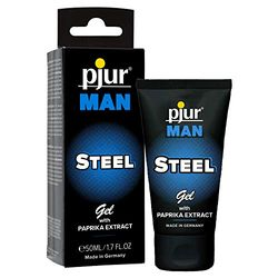 pjur Man Steel Gel (50ml) - Lubricantes íntimos