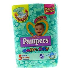 Pampers Baby Dry Junior talla 5 (11-25 kg) - Pañales