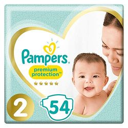 Pampers Premium Protection New Baby Size 2 (4-8 kg) - Pañales