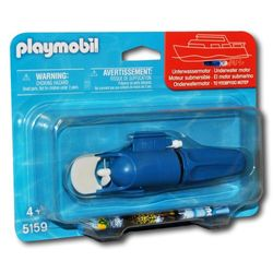 Playmobil Motor Submarino (7350) - Playmobil
