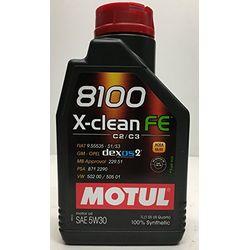 Motul 8100 X-clean FE 5W30 - Aceites motor