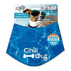 A.F.P. Chill Out Cooling bandana Blue - Ropa para perros