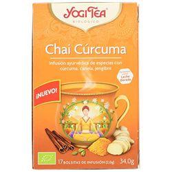 YogiTea Chai Cúrcuma (17 uds.) - Té