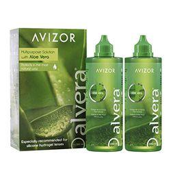 Avizor Alvera (2 x 350ml) - Accesorios para lentes de contacto