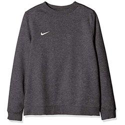 Nike Club 19 Crew Sweatshirt (AJ1545) charcoal heather/white - Jerséis niños